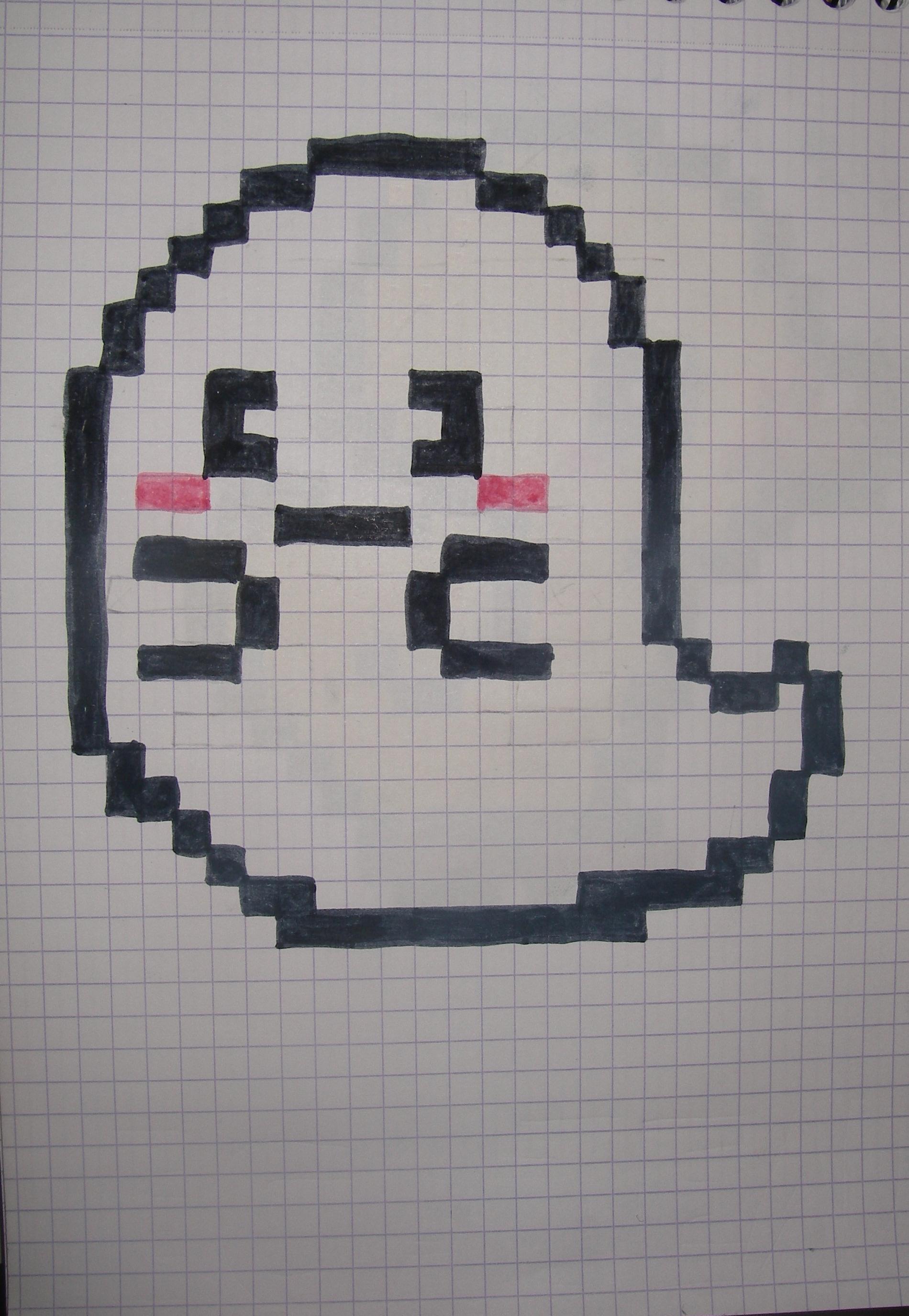 Facile Pixel Art Fille
