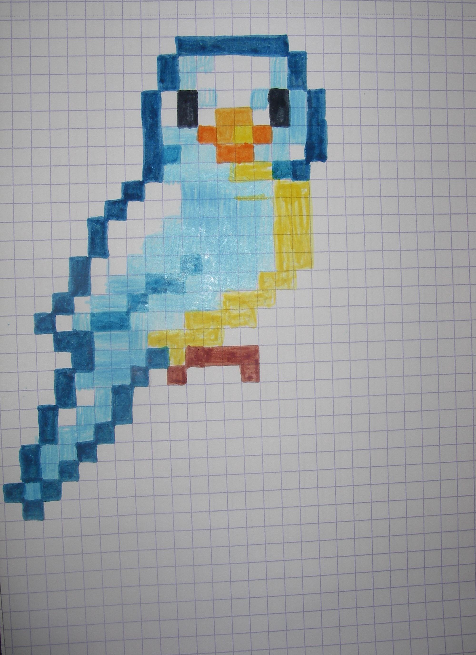 Dessin Pixel Art Fortnite A Imprimer